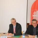 Pressekonferenz, 21. Oktober 2014, (v.l.) Dr. Wolfgang Kues, Wolfgang de Jong