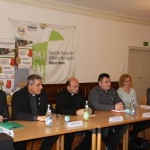 Pressekonferenz, 21. Oktober 2014, (v.l.) Dr. Wolfgang Kues, Wolfgang de Jong, Dr. Ferenc Hankovszky, Victor Turda, Astrid Angerer, Maria Reitberger