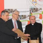 Pressekonferenz, 21. Oktober 2014, (v.l.) Wolfgang de Jong, Dr. Wolfgang Kues, Dr. Ferenc Hakovszky